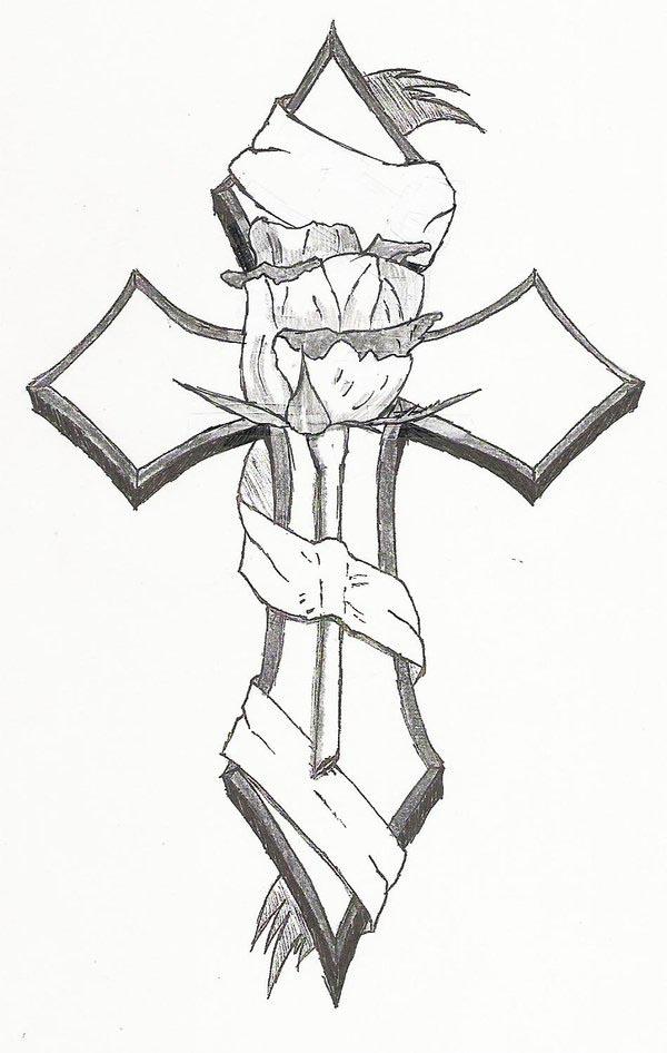 tattoos tribal meanings and cross 42.jpg tattoos designs tattoos cross tribal cross
