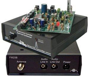 Stereo FM Transmitter 88 to 108 MHz