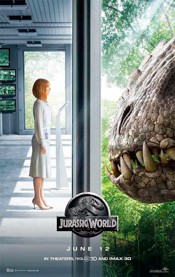 Jurassic World poster Indominus Rex