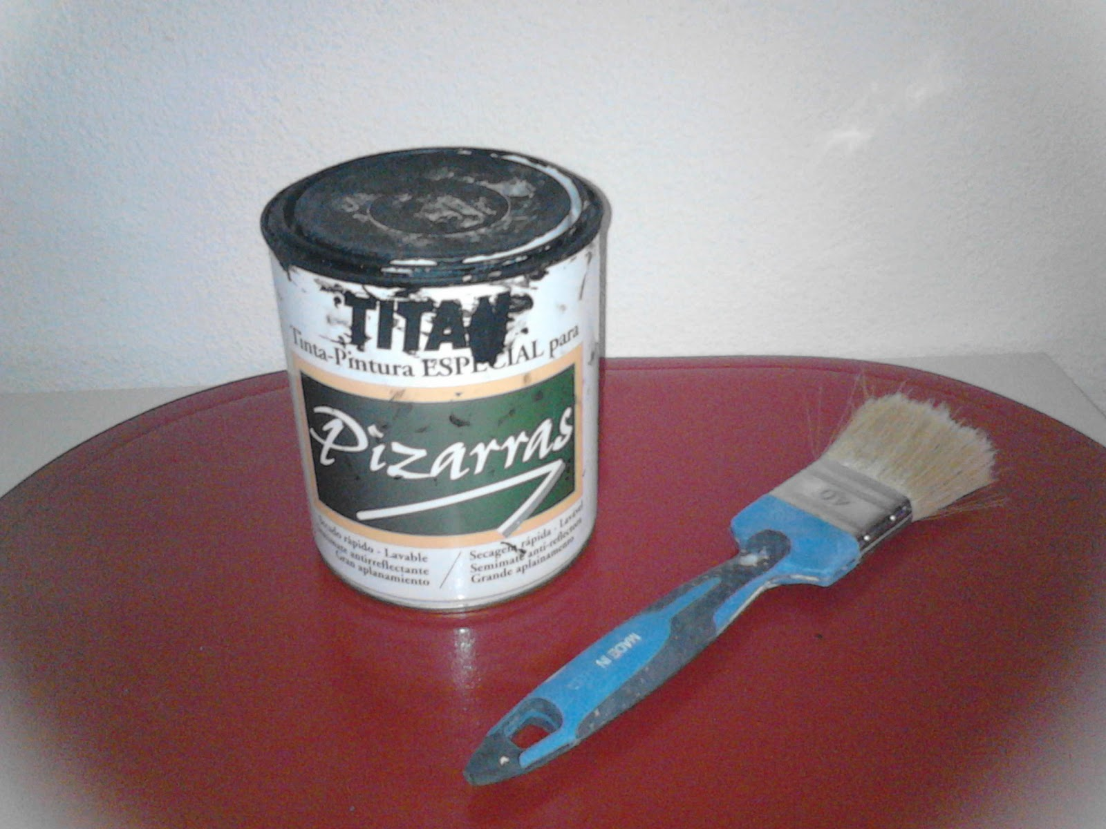 La tita sonia ikea pintura pizarra - Pintura pizarra rotulador ...