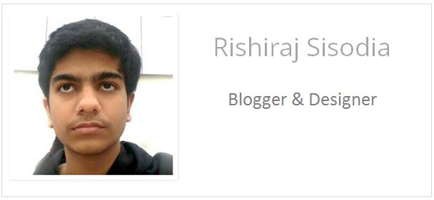 Rishiraj Sisodia