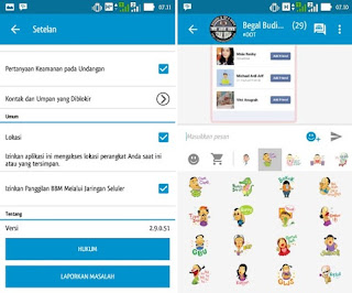 Updates BBM Backup Free Sticker 2.9.0.51 Apk