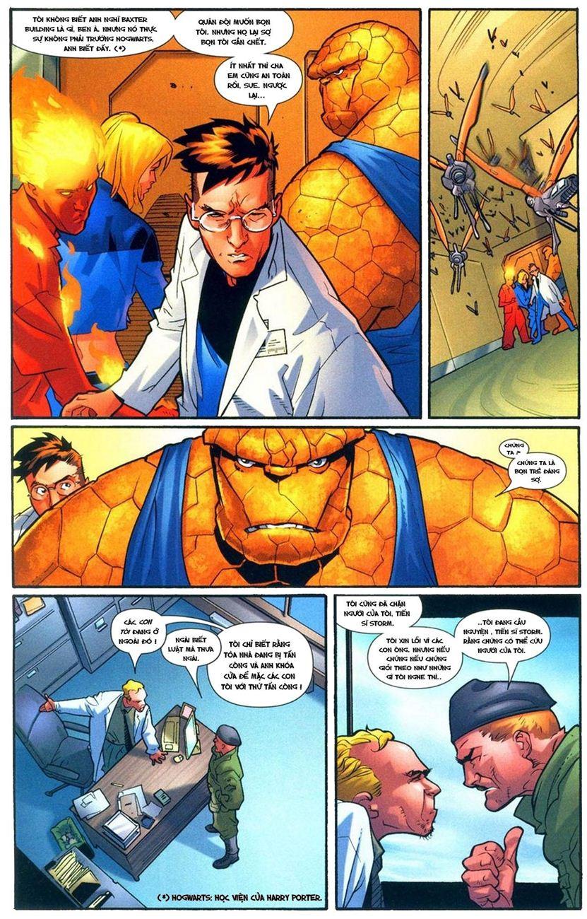 Ultimate Fantastic Four chap 9 - Trang 10