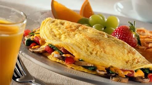 Aprenda a fazer uma deliciosa omelete vegetariana
