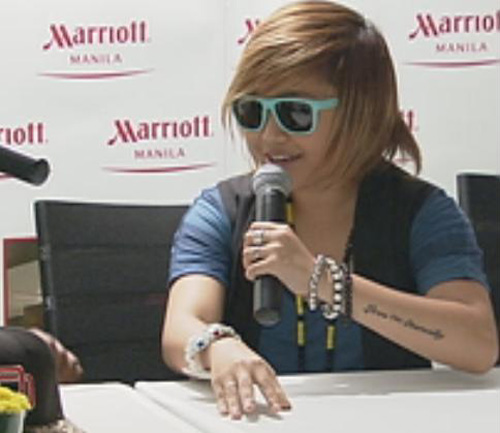 CHARICE'S NEW LOOK : NEW HAIR, NEW TATTOO | enjoying wonderful world