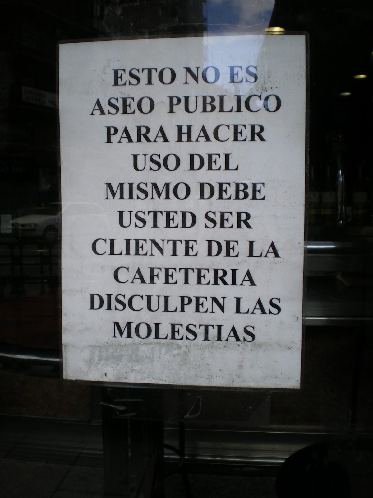 Baño Familiar Publico:En Madrid no se mea los domingos – Aprende español callejeando por
