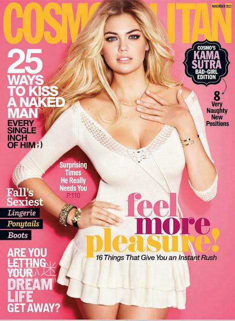 Cosmopolitan November 2012 cover English magazine scans
