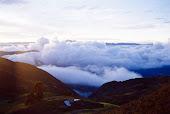 Nubes encima del Marañón