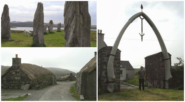 Callanish Standing Stones, Blackhouse Village and Bragar Whalebone Arch