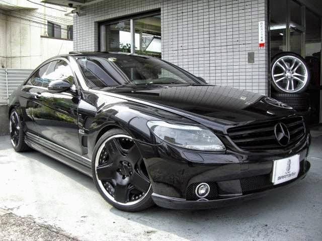 Benztuning mercedes benz cl550 lorinser style black on black for Mercedes benz black on black