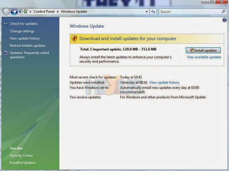 Windows Vista Home Premium Service Pack 2 download