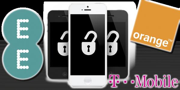 Unlock Orange UK iPhone