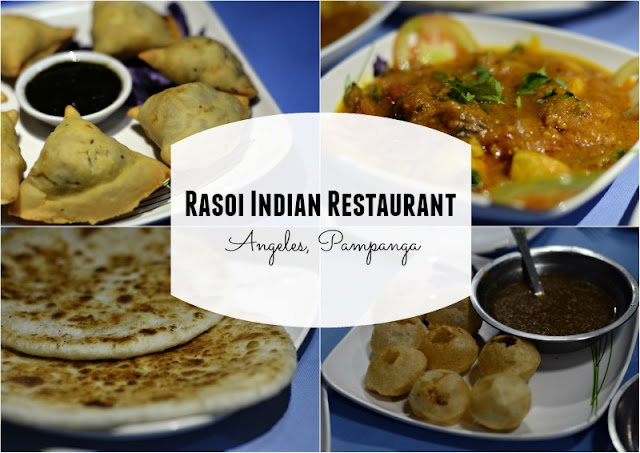 Rasoi Indian Restaurant in Angeles City Pampanga