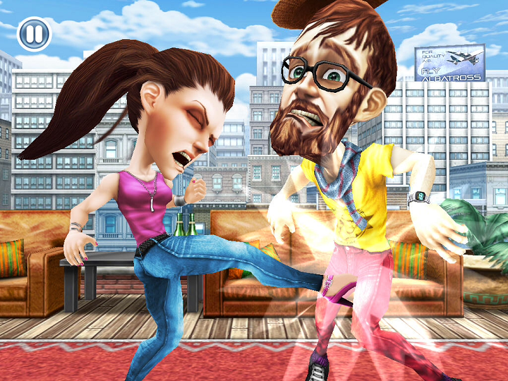 Hipster Smackdown Main Game App