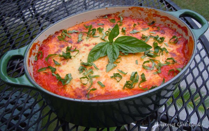 Gourmet Girl Cooks: Wednesday's Eggplant Ricotta Bake