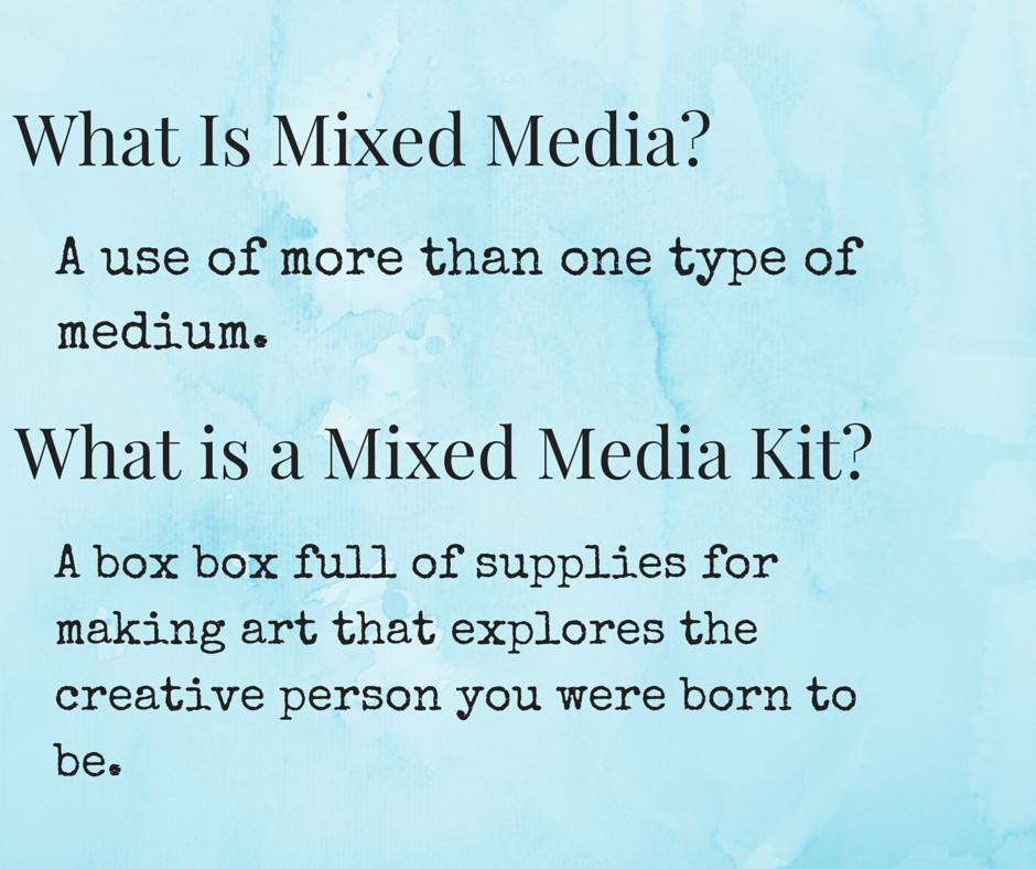 Mixed Media Kit, Art kit, Art Supplies