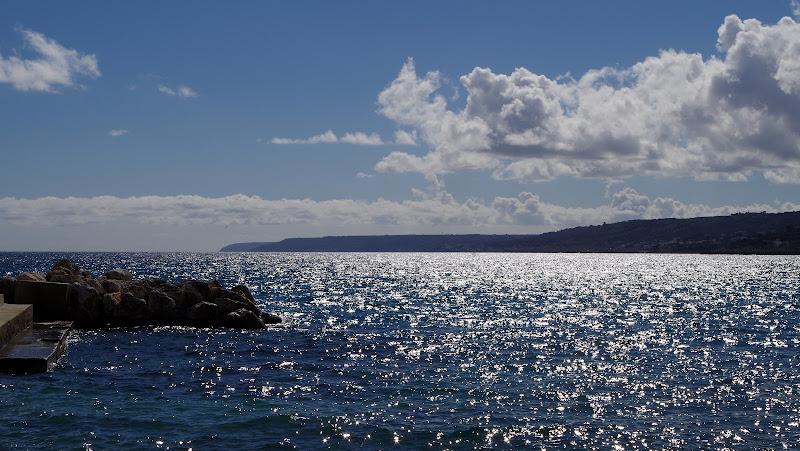 Meer bei Castro im Süden von Apulien (Salento)