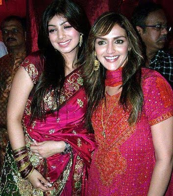 , Ayesha Takia Hot Pics In Saree