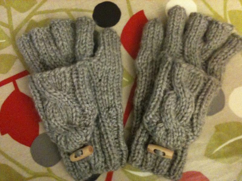 Modele tricot gratuit moufle mitaine - Modele mitaine tricot facile ...