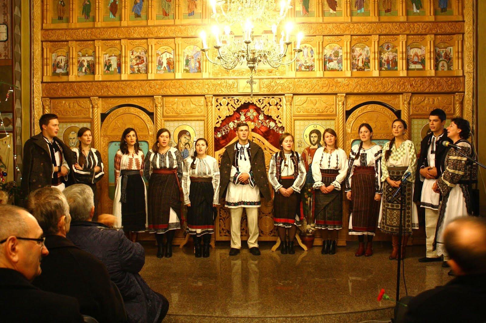 Colinda studenților, 2015. Dorijor, prof. Ionela Popa. Foto: Ana-Al. Dobrean