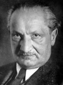 Frases do Filosofo Martin Heidegger