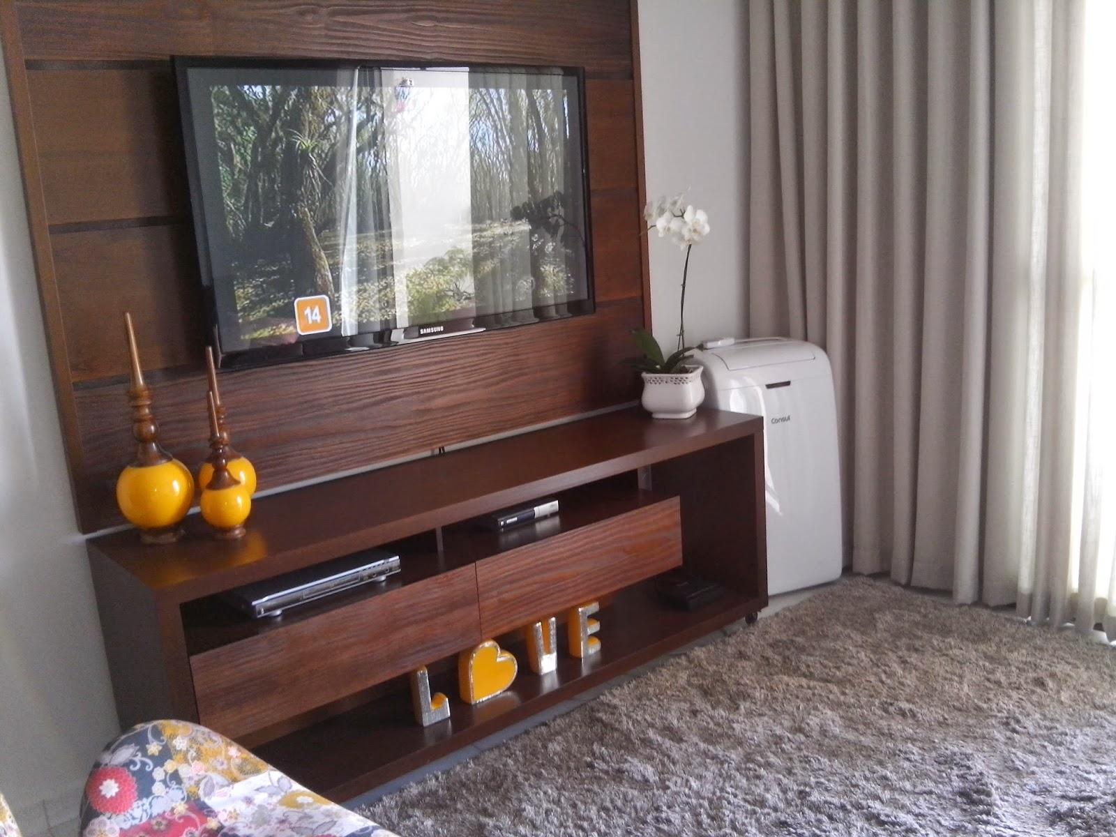 Aparador De Pelos Wahl Mini ~ Lar das Virtuosas Decoraç u00e3o Sala conjugada de apartamento