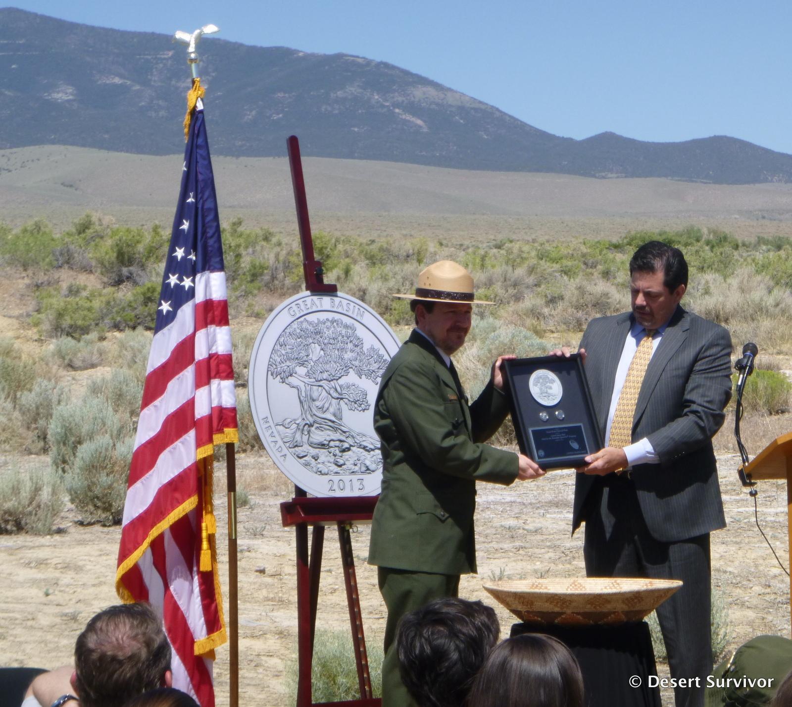 Fnb Bank Teller Kempton Park: Desert Survivor: Great Basin Quarter Ceremony