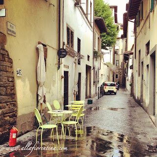 yellow chairs oltrarno florence
