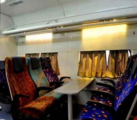 Indian Railway - Chair Cars Compartments