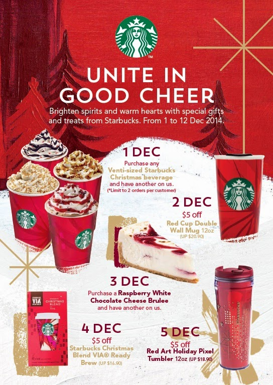 Join Starbucks Coffee This Christmas In The Mood To Share ~ Huney ...