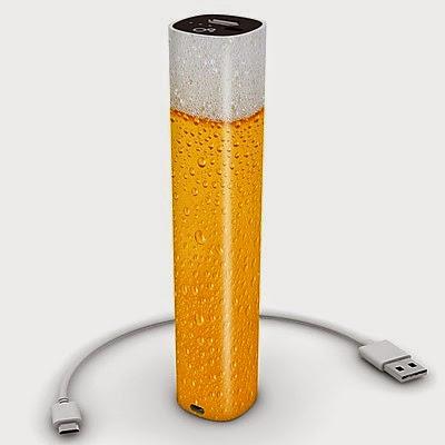 Cargador Móvil de Bolsillo Cerveza