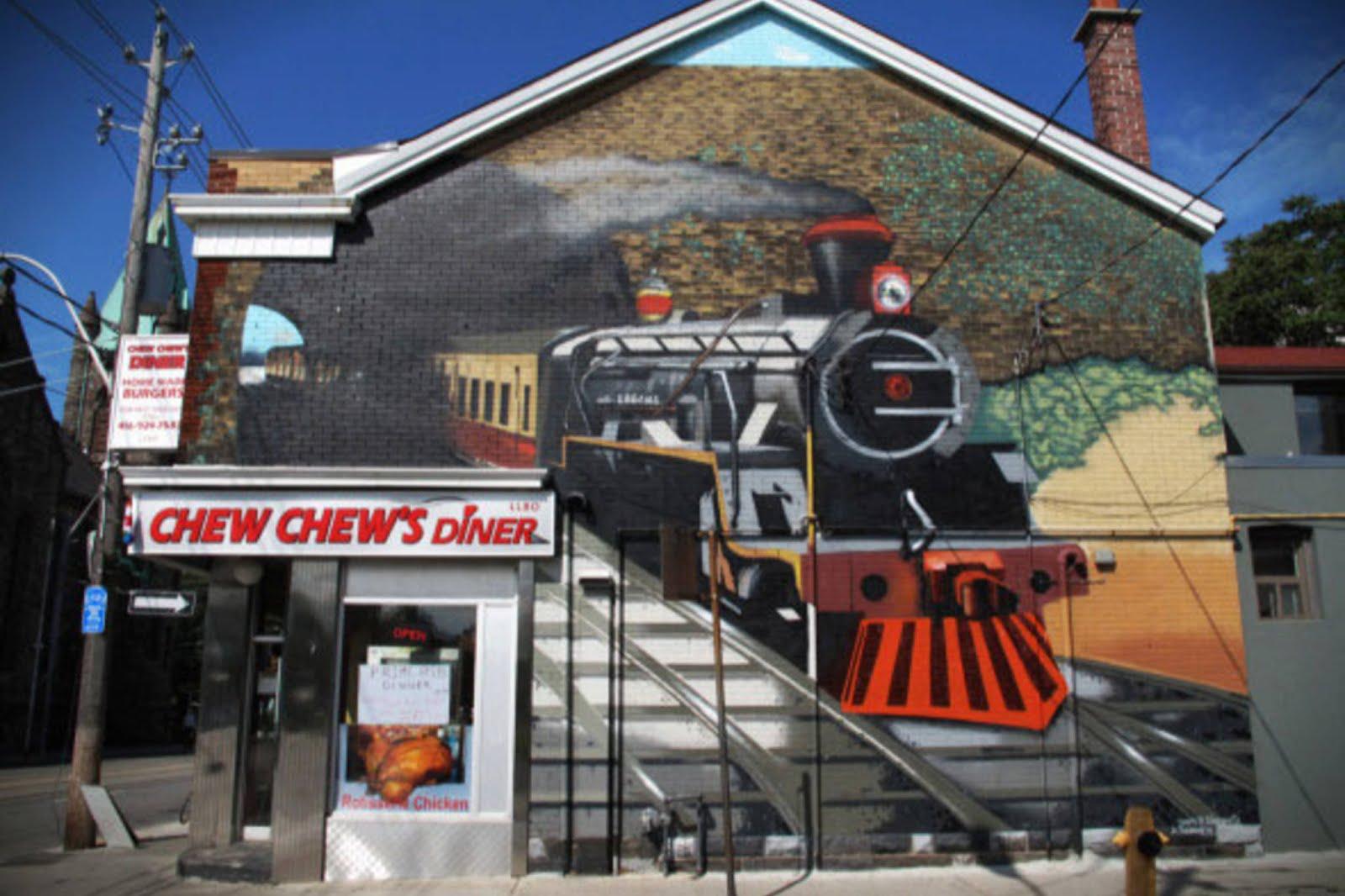 Chew chew's diner in Toronto