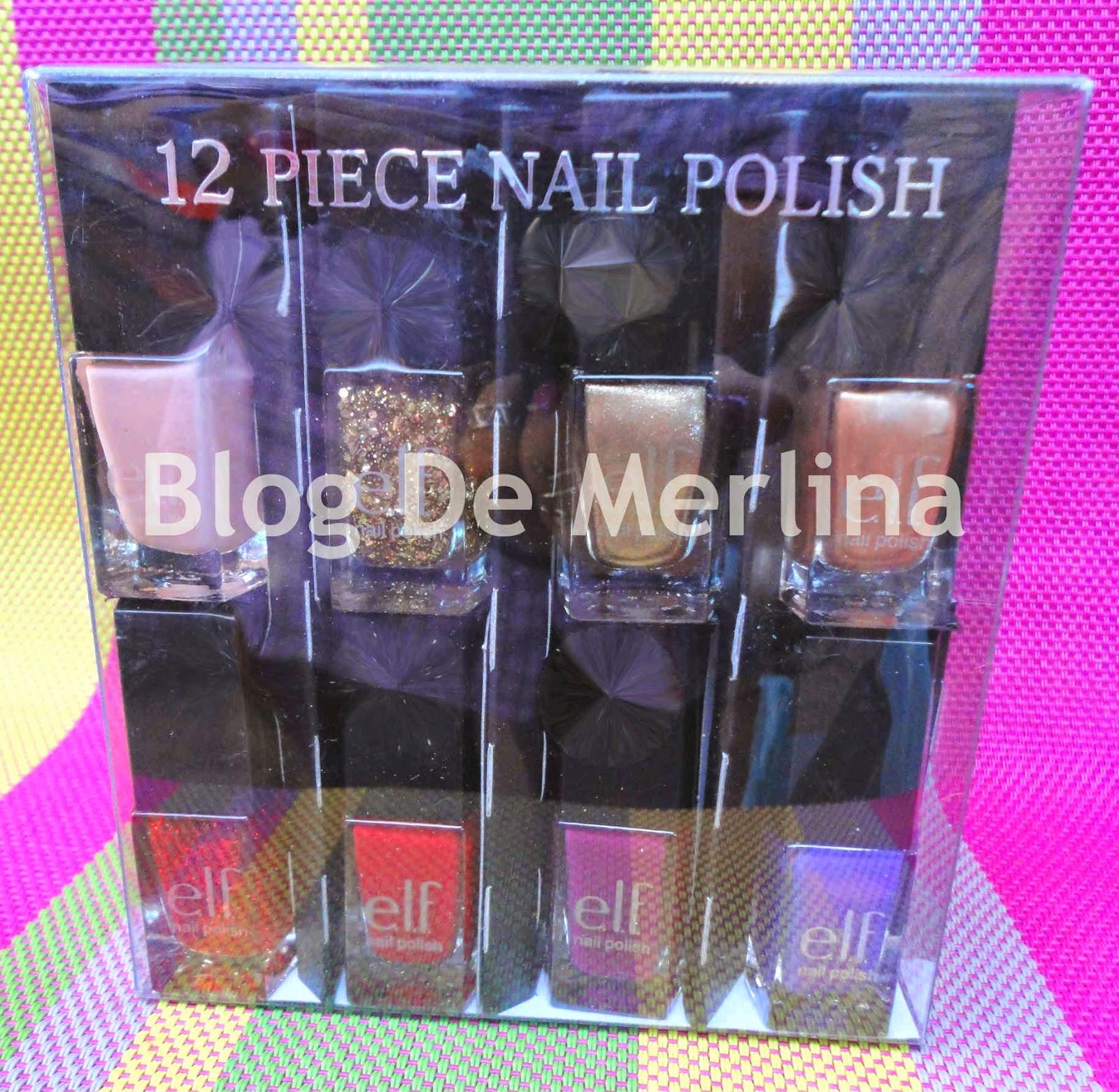 Set De 12 Esmaltes De ELF ~ Maquillaje... Tips, Productos y Opiniones