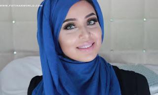 Langkah Kelima Tutorial Hijab Pashmina Fatiha