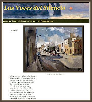 LA SENIA-CUADROS-PINTURAS-ERNEST DESCALS-VOCES-SILENCIO