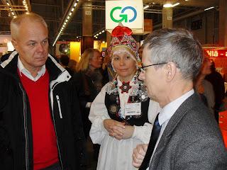 Kohtumine Pärnu delegatsiooniga Helsingi turismimessil