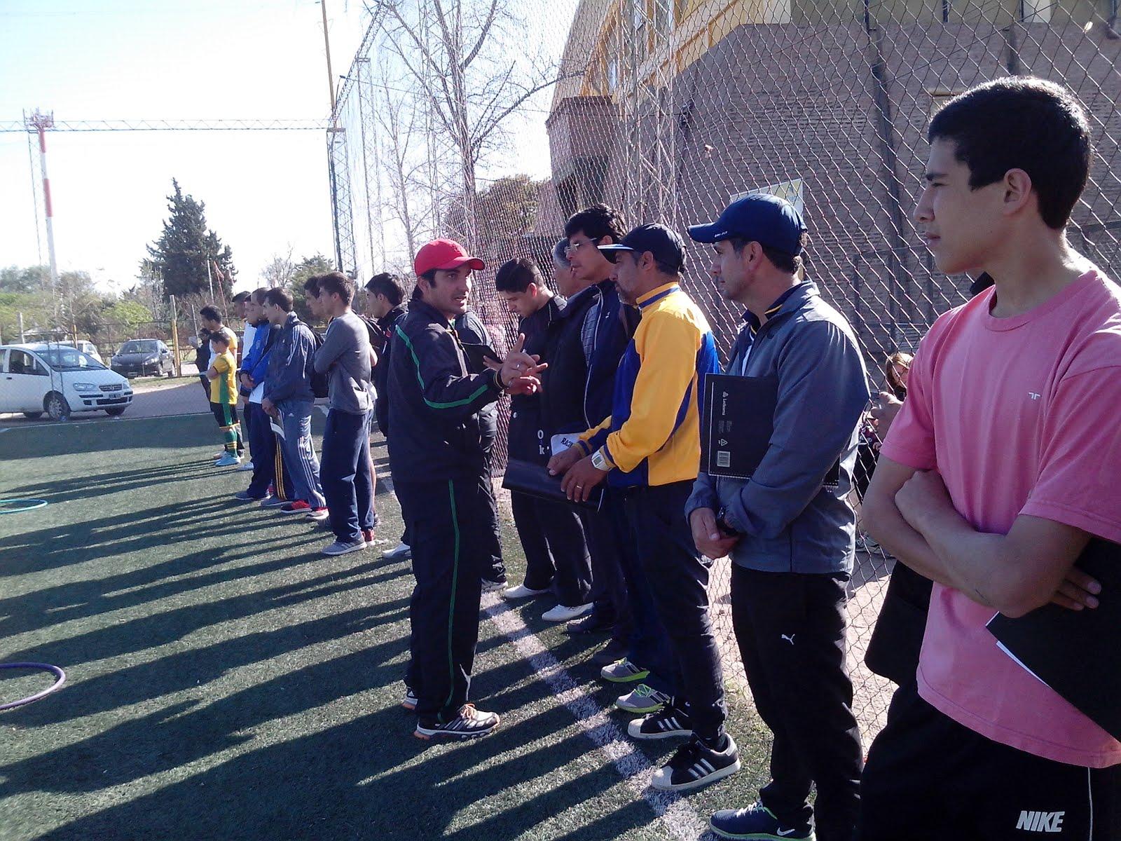 Clinica de Futbol Infantil - 2015