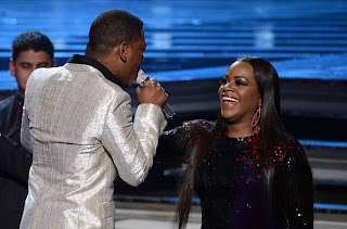 Fantasia Barrino and Joshua Ledet