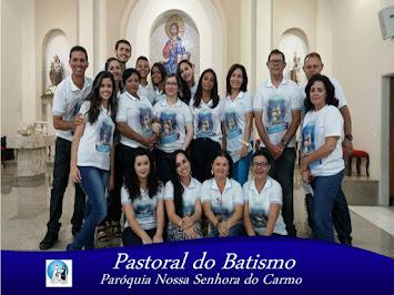 Os agentes da Pastoral do Batismo