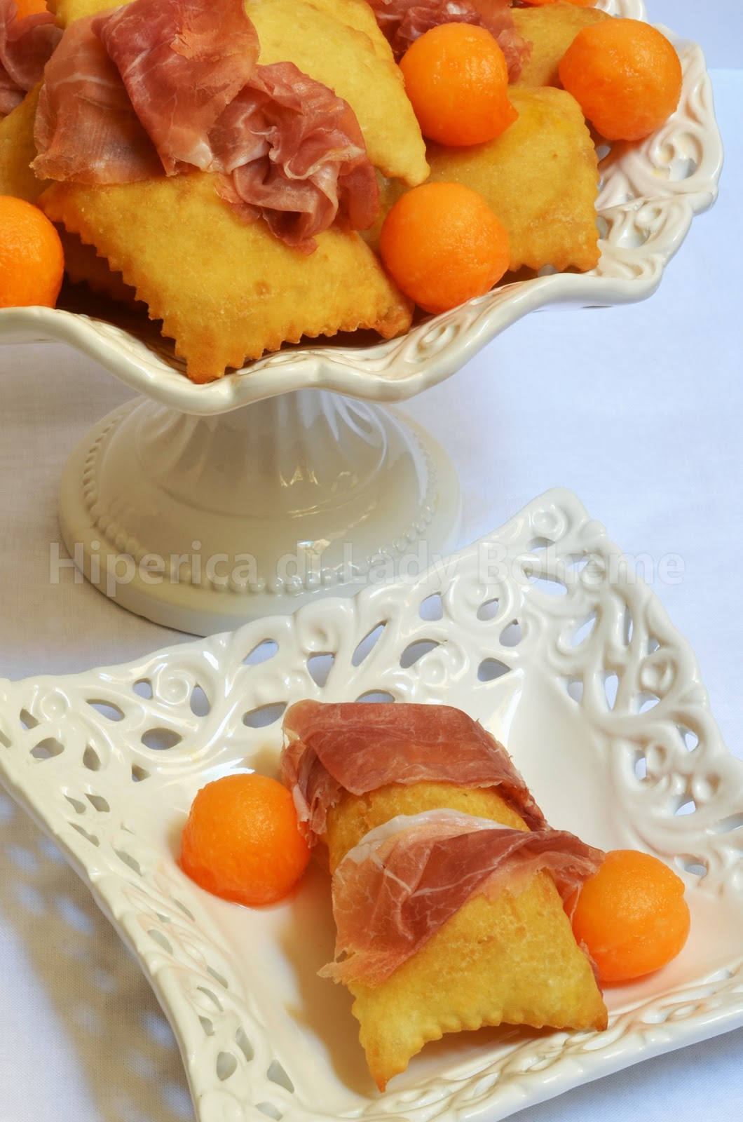 hiperica_lady_boheme_blog_cucina_ricette_gustose_facili_veloci_gnocco_fritto_senza_strutto_con_prosciutto_e_melone_2