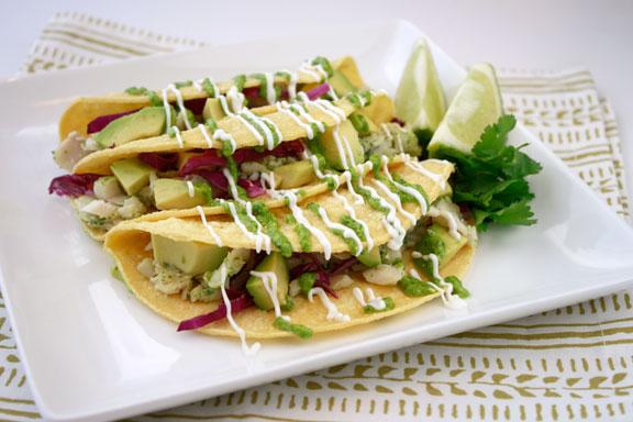 Northwest Seasonal: Cilantro Lime Fish Tacos
