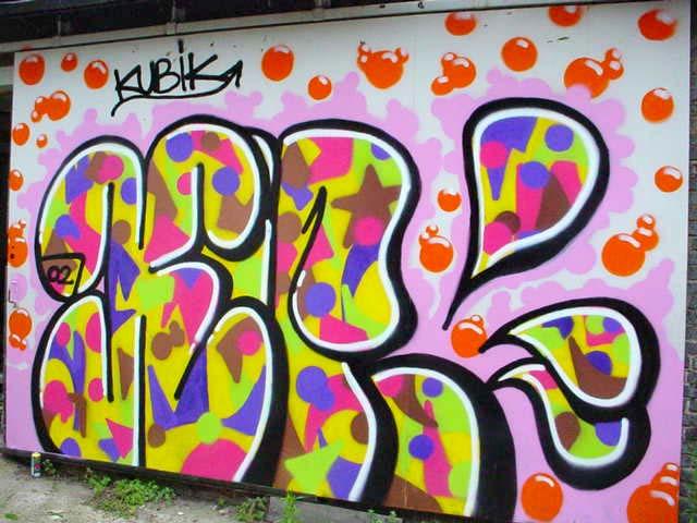 Graffiti en galicia estilos for Estilos de letras