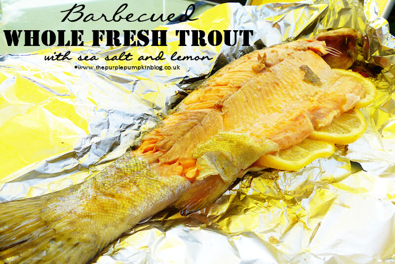 Barbecued Whole Fresh Trout