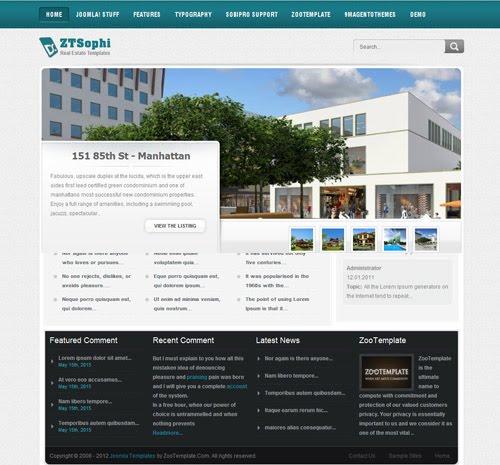 Real-Estate-Joomla-Template