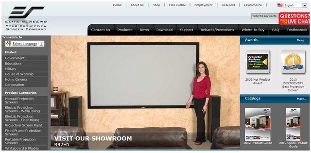 Projector Reviews at EliteScreens.com