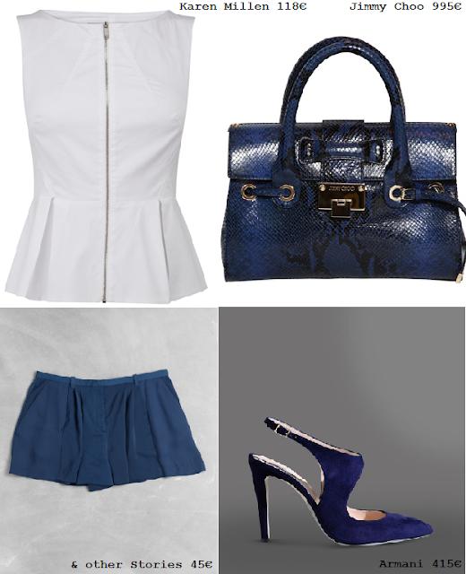 Look azul caro