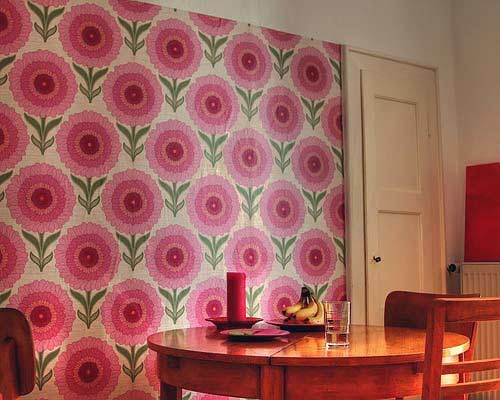 These Guys Johnny Tapete In Germany Have A Great Collection Of Vintage Wallpaper If Youre Into That Kind Of Thing Look How They Ran The Paper Only Up