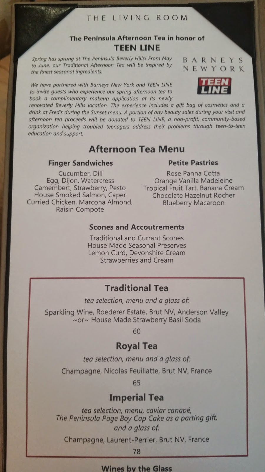 This Past Weekend I Took My Two Favorite Ladies (my Mom U0026 My Momu0027s Friend)  Out For A Traditional Afternoon Tea At The Living Room Located Inside The  ... Part 98