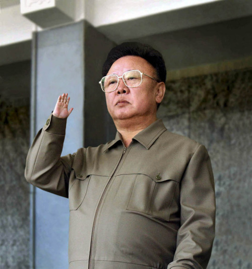 one tiny hand kim jong il