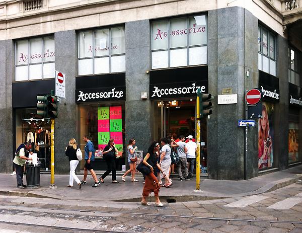 Via Torino - Accessorize Shop